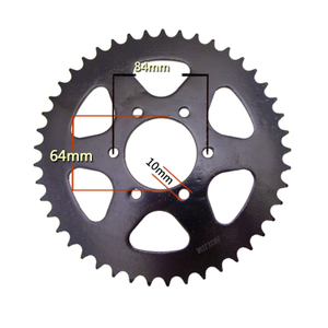 For Suzuki DR200 DS185 TC125 185 TS185 SP200 motocross rear sprocket 520 Chain 45T sprockets after sprocket(China)