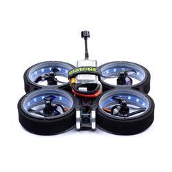 DIATONE MXC TAYCAN SW2812 LED 3 pouces MAMBA F405MINI MK3 25A/35A TX400 RUNCAM NANO2 MB1606 3750KV/2700KV 4/6S Cinewhoop Conduit Drone