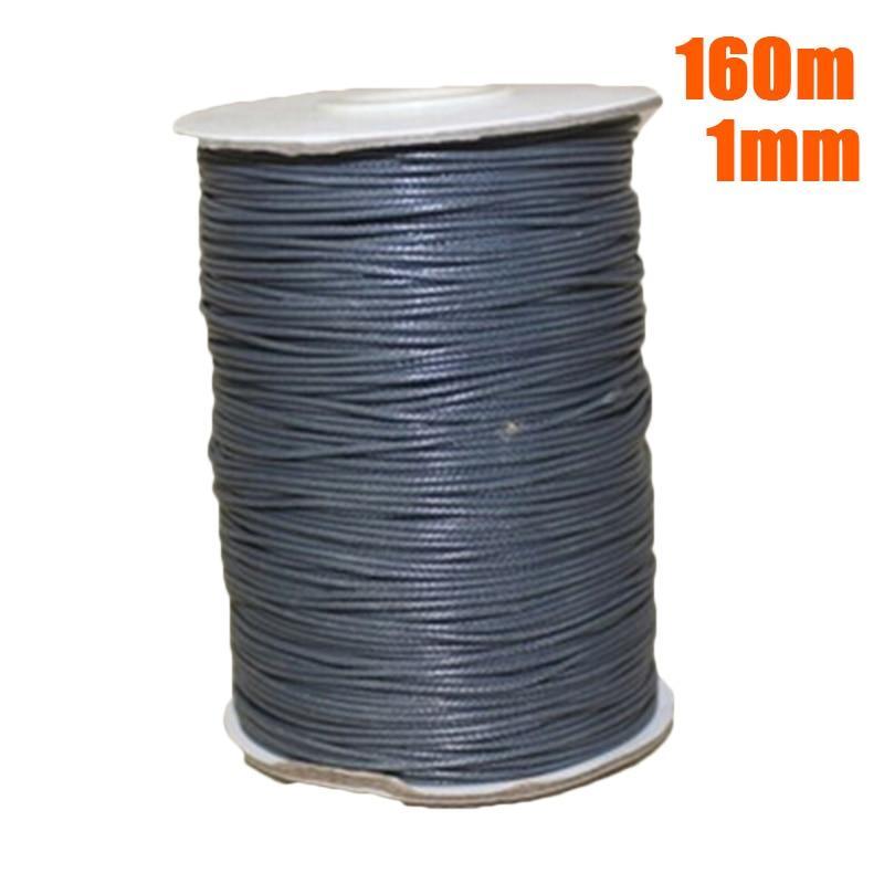 1//1.5//2//3mm Korea Waxed Cotton Cord Wire Thread Jewelry Beads Bracelets Making