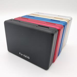 Image 3 - Moda 20 otwory psychicznego pudełko materiał ze stopu aluminium papierośnica dla IQOS do przechowywania papierosów pudełko
