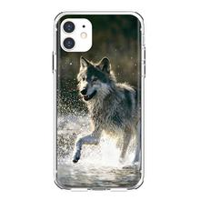 For Samsung Galaxy A3 A5 A7 A9 A8 Star Lite A6 Plus 2018 2015 2016 2017 Smartphone Silicone Phone Case Baby Wolf Wallpapers(China)