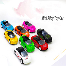 Pull Back Car Toys Car Children Racing Car Baby Mini Cars Cartoon Pull Back Go Kart Kids Toys Children Boy Gifts Random Color 6pcs lot multicolor plastic cartoon mini pull back boy car model toys set educational toy for children car toys