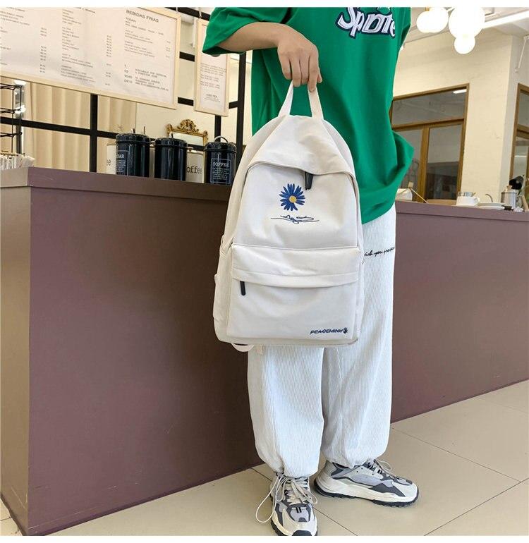 bordados crianças sacos meninas adolescente mochila feminina