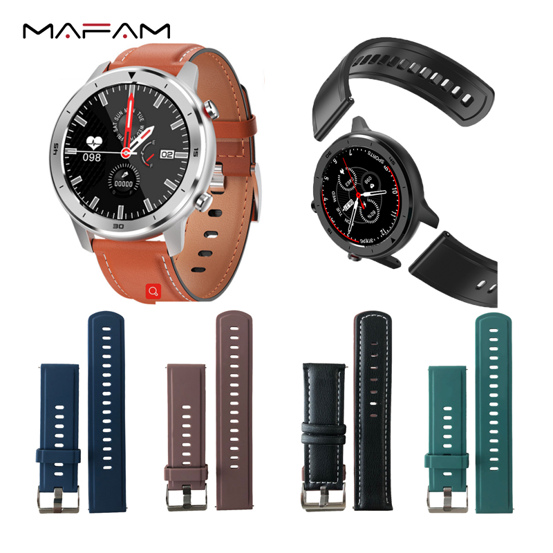MAFAM DT78 Smart Watch Men Women Smartwatch Wearable Devices Strap