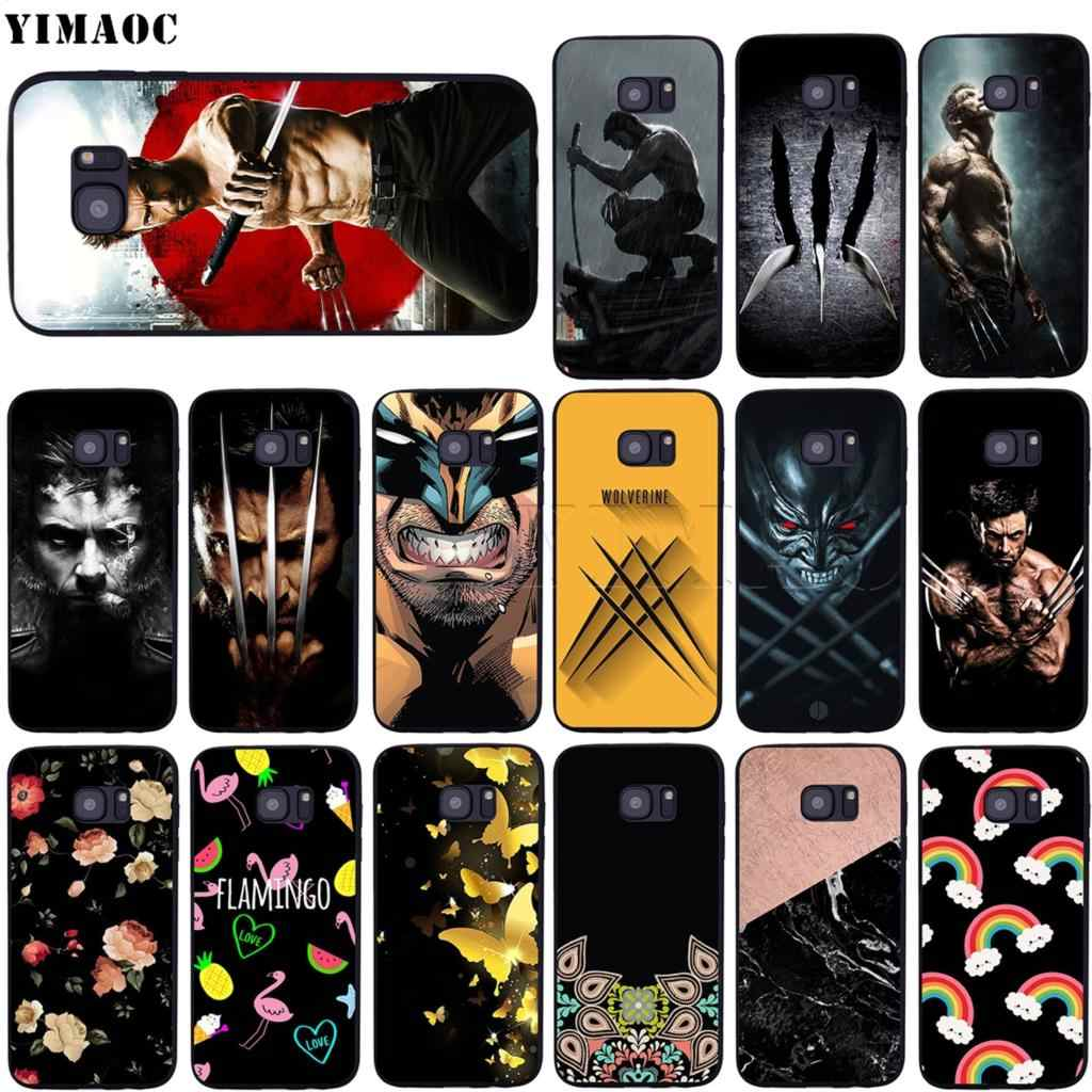 YIMAOC Wolverine Jackman samsung kılıfı Galaxy A10s A20s A30s A40s A50s not 10 artı A2 J4 J6 J7 J8 çekirdek başbakan