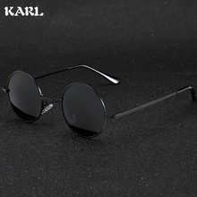 Retro Vintage Round Sunglasses Women Men Punk Style Sunglass Metal Frame Classic Polarized Driving Gafas De Sol UV400