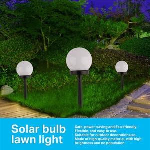 Image 5 - 8 pcs/lot LED Solar Garden Light Outdoor Waterproof Lawn Light Pathway Landscape Lamp Solar Lamp for Home Yard Driveway Lawn Ro