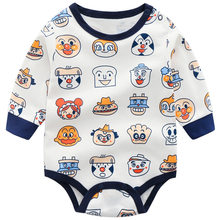 Baby Jongens Rompertjes Lange Mouwen Klimmen Bodysuit Baby Prinses Driehoek Jumpsuit Peuter Kid Herfst Winter Kleding Cartoon(China)