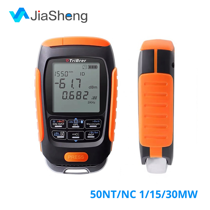 4 In 1 Optical Power Meter Visual Fault Locator Optical Fiber Tester Network Cable Test Li-lion Battery  OPM VFL