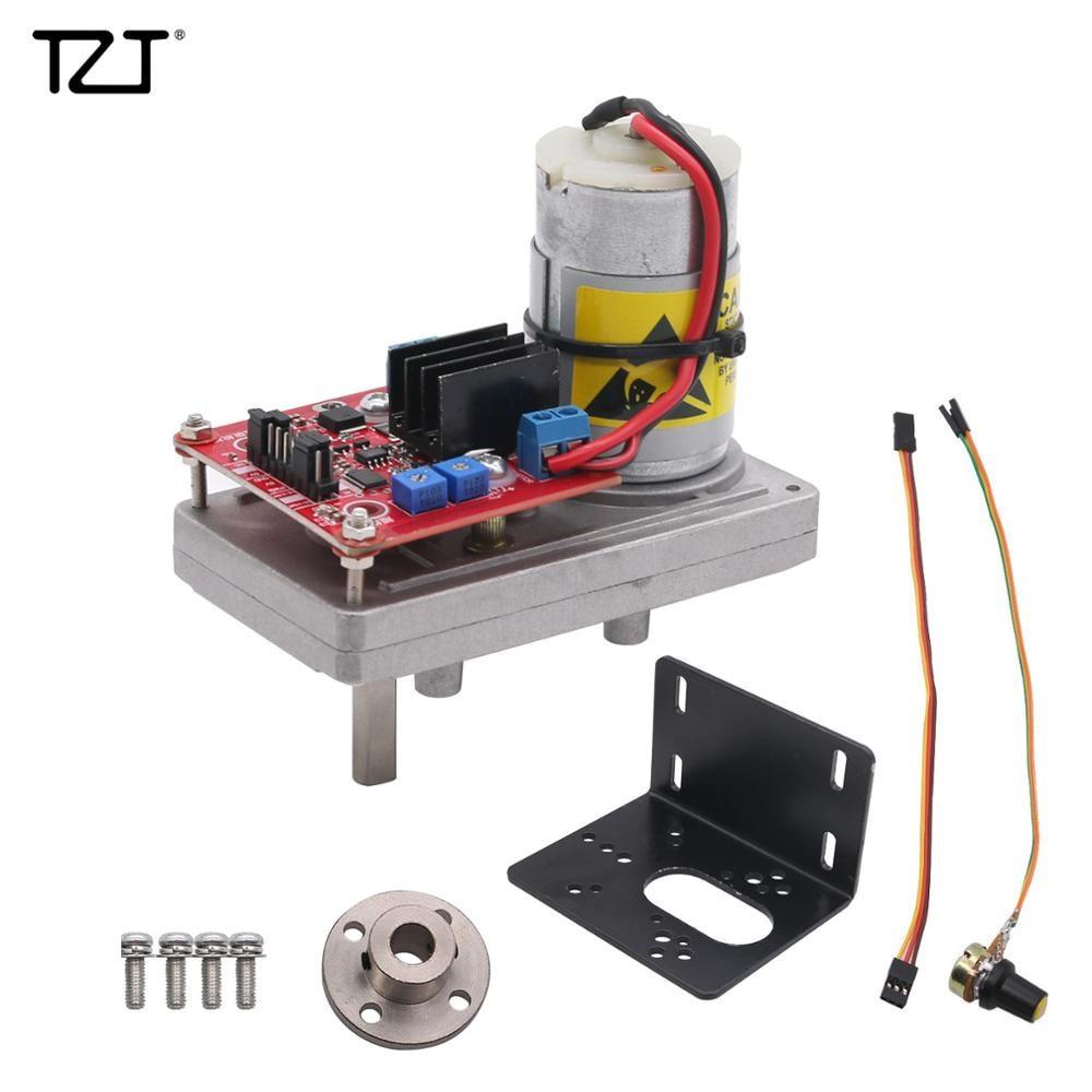 TZT 100kg/380kg/cm High Torque Servo Kit Steel Gear DC12V-24V With Potentiometer For Mechanical Arm Robot