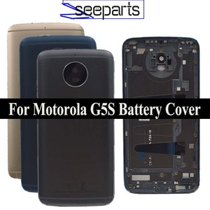 New Back Battery Cover Housing For Motorola Moto G5S XT1793 XT1794 XT1795 XT1792 Rear cover Battery Cover Free Shipping