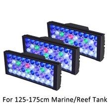 3 pces led aquário luz recife aquário led iluminação para aquário led 120 aquário marinho luz luzes do tanque de peixes