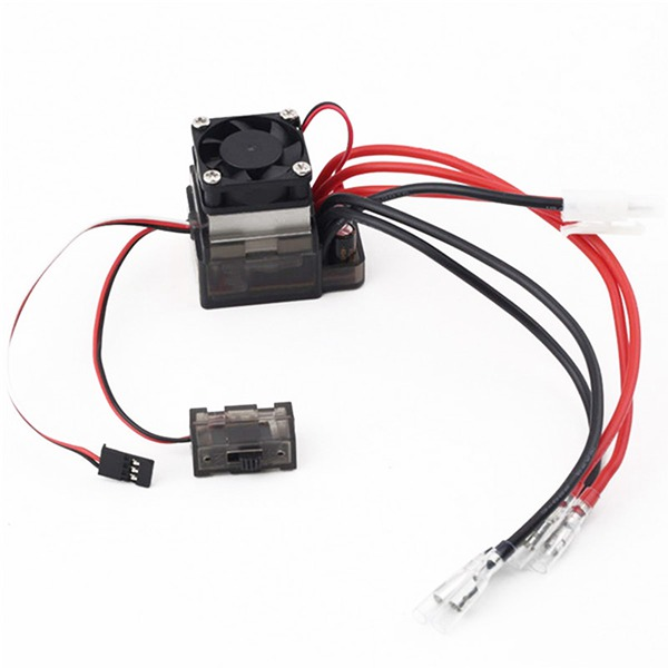 Discount Chance of  320A Waterproof RC Boat ESC Eletric Speed Controller for RC Crawler Car/Boat Regulator Spare Parts