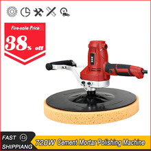 Smoothing-Machine Electric-Cement Polishing Floor And Putty Mortar-Wall Hand-Held