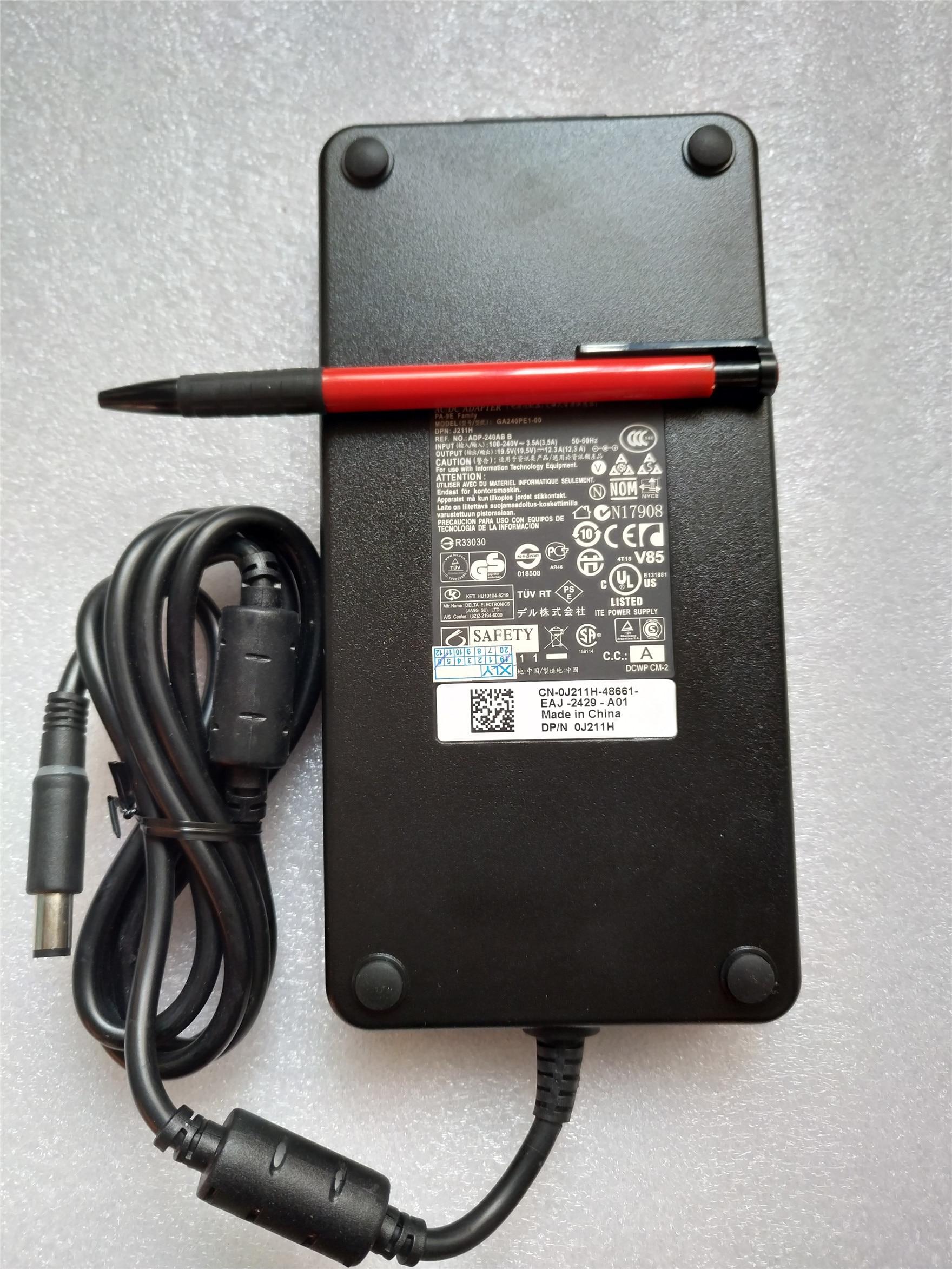 Зарядное устройство 19,5 в, 10,8 А, а, адаптер питания переменного тока для DELL Alienware 14 13 R2 R3 17 R3 Precision M4700 M6400 M6600 M6700 M6800 M6500