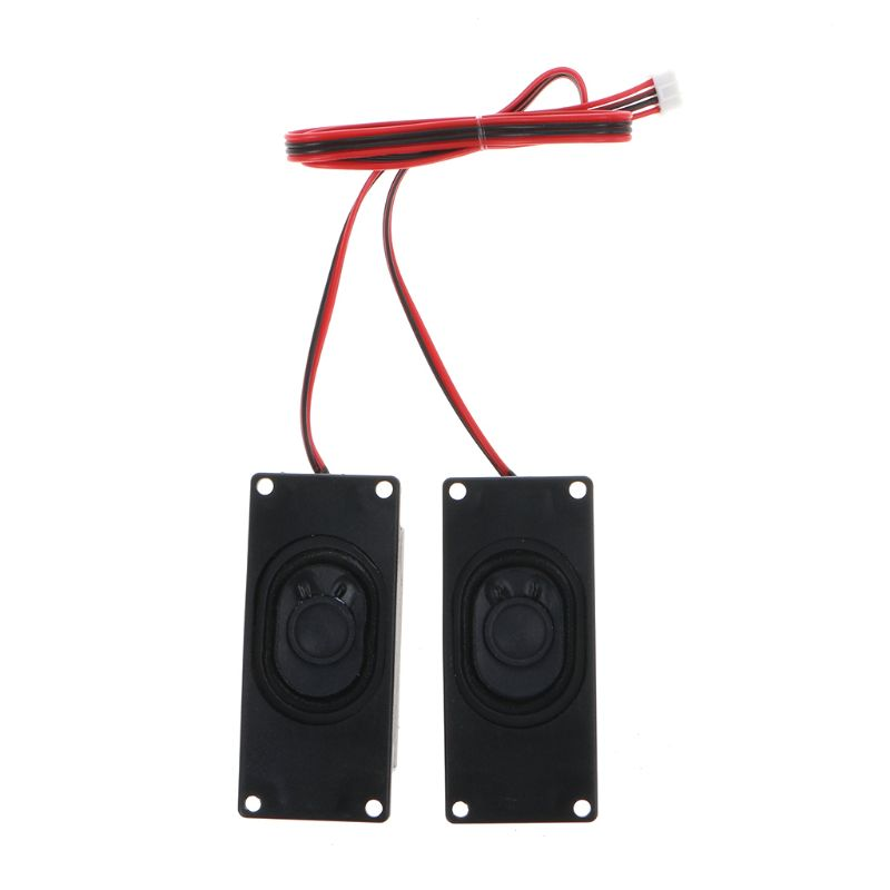 2Pcs 3070 Advertising LCD TV Speakers Loudspeaker 4 Ohm 3W Rectangle Speaker New Q84A