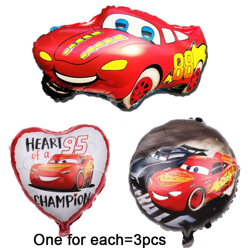 "Disneys Cars Foil Balloons 18/"" Kids Birthday Party Decoration"