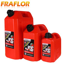 Fuel Tank 20L Litres Spare Plastic Cans Diesel Gasoline Container Jerrycan Automatic Lock Oil Pipe Tube Motor Car Oil Petrol Can