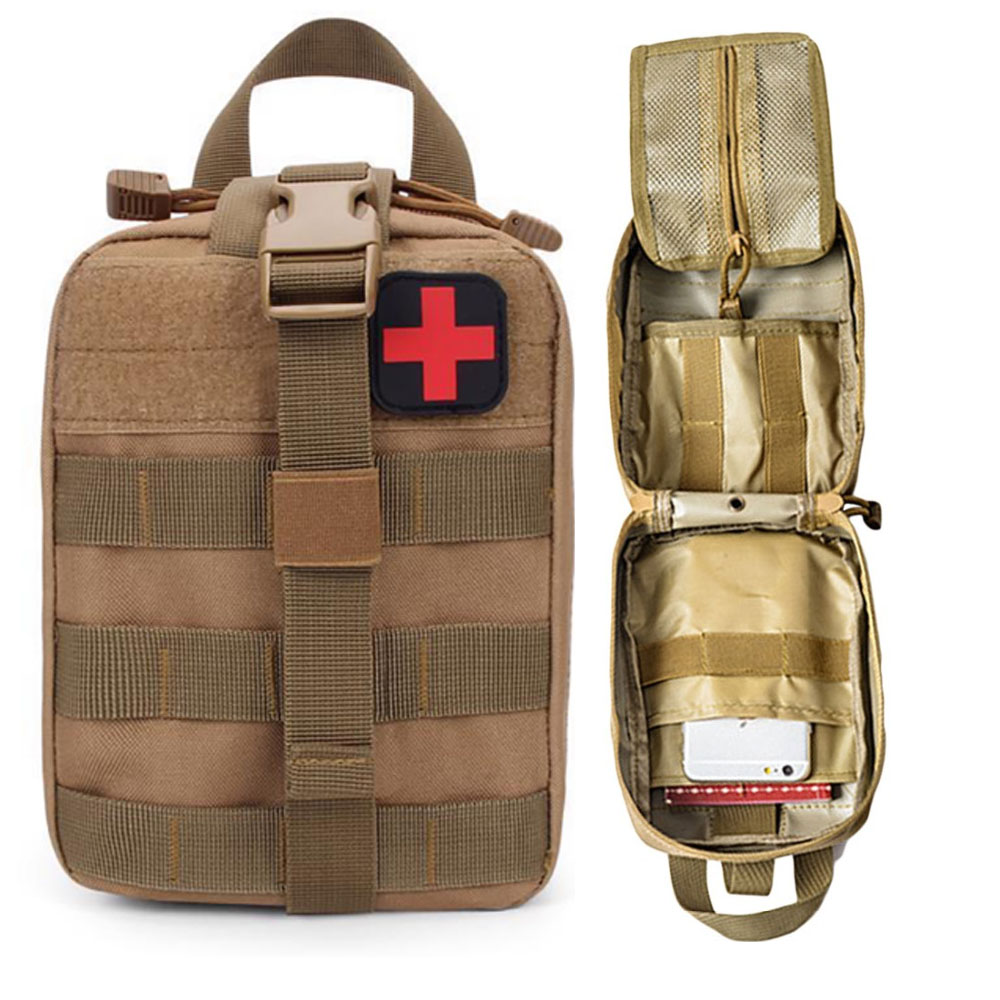 Tactical Medical Kit Survival Pouch Outdoor Medical Box Tactical First Aid Bag Medical Kit Bag 7 Color  Ambulance Box