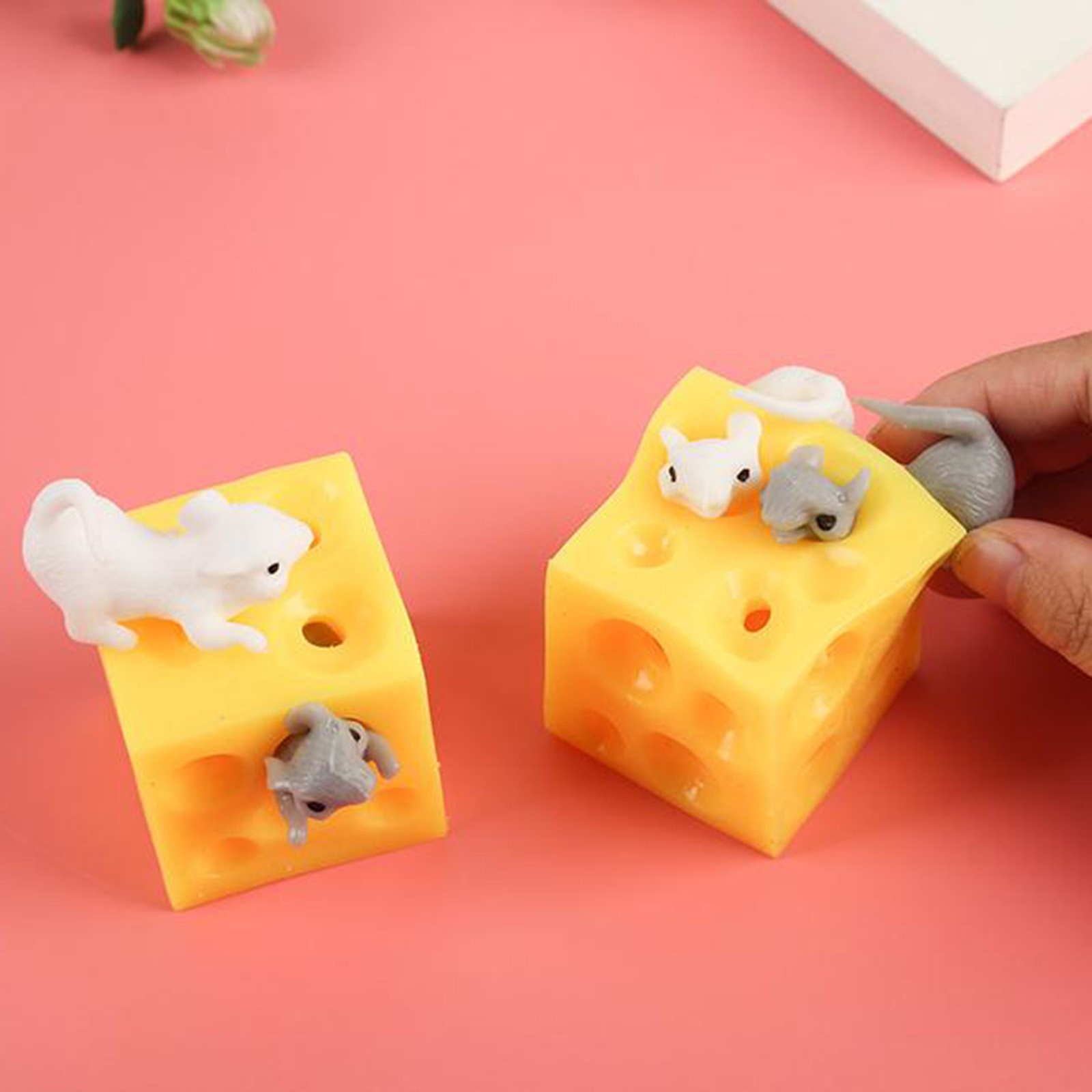 Decompression Toy Gift Scary Tricky Stress Reliever Creative Adult Kids Cute Music Pinch img5