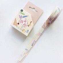 Washi-Tape Masking Kawaii Paper Stationery Decorative House
