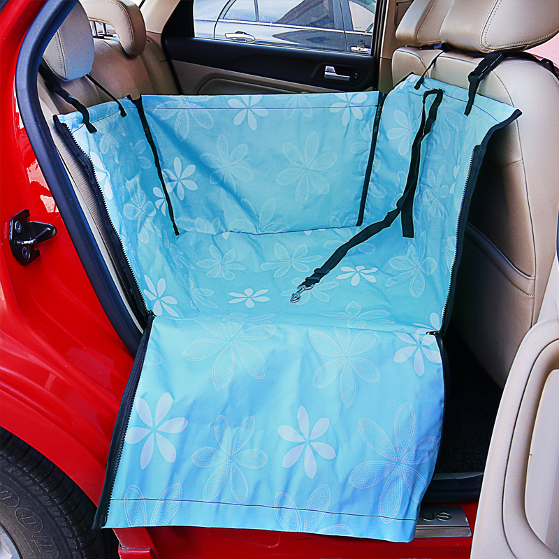 Pet Carrier For Dogs Waterproof Rear Back Carrying Dog Car Seat Cover Hammock Mats Transportin Perro