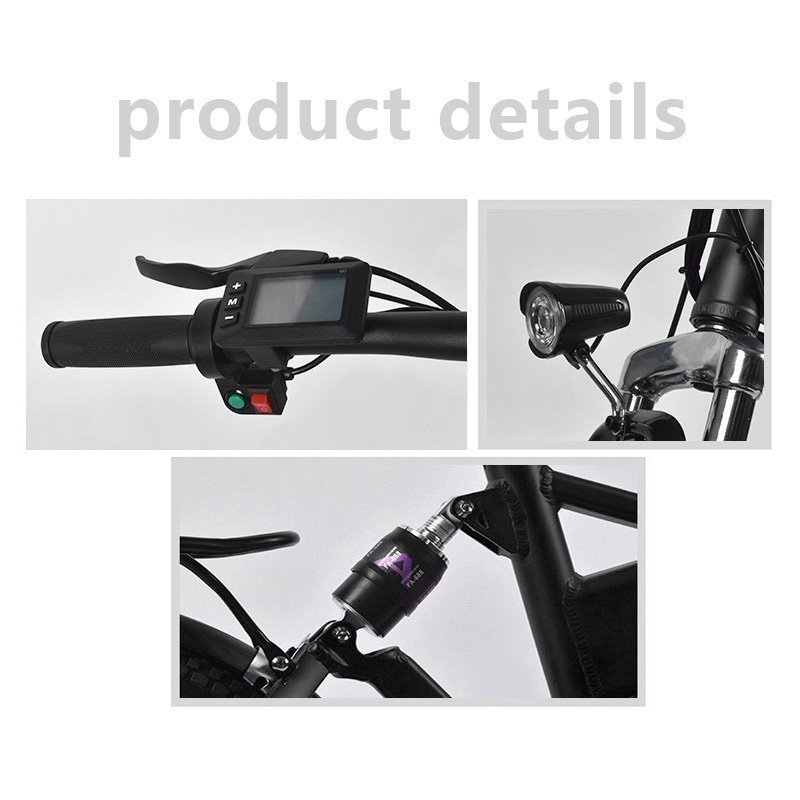 MYATU High quality 20 inch electric bicycle 36V250W folding electric mountain bike lithium battery electric vehicle battery in Electric Bicycle from Sports Entertainment