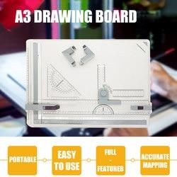 Professionelle A3 Zeichnung Tabelle Technische Bord mit Zeichnung Kopf Maschine FKU66