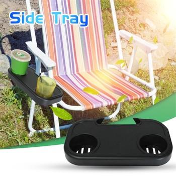 Napoje taca na składane krzesło s podróżne krzesełko składane składane krzesło puchar tacka przenośne składane Camping piknik plaża ogród krzesło taca tanie i dobre opinie CN (pochodzenie) fashion 30x17x4cm 2021 Krzesło ogrodowe Europa i Ameryka Z tworzywa sztucznego meble zewnętrzne China
