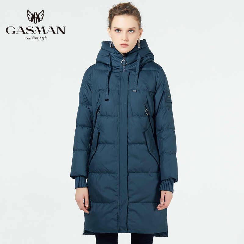 GASMAN 2019 kış ceket kadınlar yeni parka kadınlar 2019 marka mont kapşonlu bayanlar ceketler kadın Parka kalın yastıklı astar kış