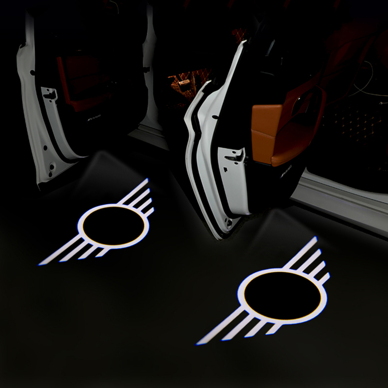 Car Door Light LED Logo Car Welcome Light For BMW MINI Cooper One S R50 R53 R56 R60 F55 F56 R58 R59 Car Styling Accessories