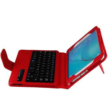 Bluetooth Keyboard case For SAMSUNG Galaxy Tab A 8'' T350 Tab A 8.0 T355 Wireless Keyboard Black holder stand Tablet case cover