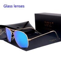 2020 dpz стеклянные линзы градиентные женские солнцезащитные очки es Мужские 58 мм 3025 зеркальные G15 Gafas Горячие rayeds брендовые солнцезащитные очки...