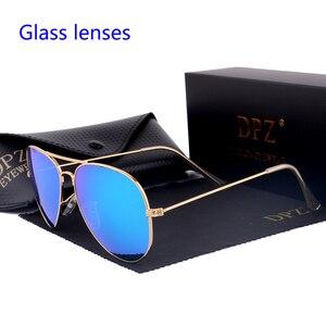 Image 2 - Женские и мужские градиентные стеклянные линзы DPZ, Зеркальные Солнцезащитные очки 58 мм 3025 G15 Gafas hot rayeds, брендовые солнцезащитные очки es UV400, 2020