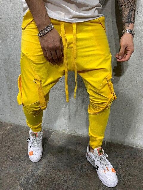 MARKA KRALI-Pantalones de chándal divertidos para Hombre, ropa de calle para correr, entrenamiento de Hip-Hop 2