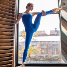 Sexy Backless Workout clothes for women Yoga Jumpsuit Female One Piece Sports Pants Fitness Running Gym Sport Clothes tracksuit