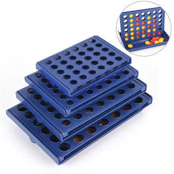 Connect 4 In A Line Board Game Children's Educational Toys for Kid Sports Entertainment 1 Set image