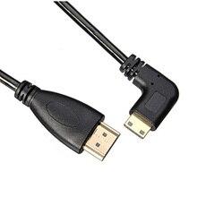 Микро HDMI кабель Весна расширение 90 градусов угол Портативный прочный для ноутбука камеры новое поступление