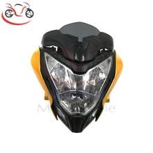 Front Headlight Headlamp Assembly for BAJAJ Pulsar 150 200 PULSAR150 PULSAR200 Super Bright Personality Headligh