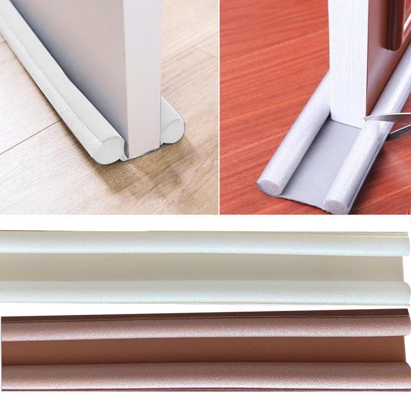 95 см уплотнительная лента для двери, гибкая ветрозащитная шумоподавляющая пробка для двери, уплотнительная лента для двери, уплотнительная...