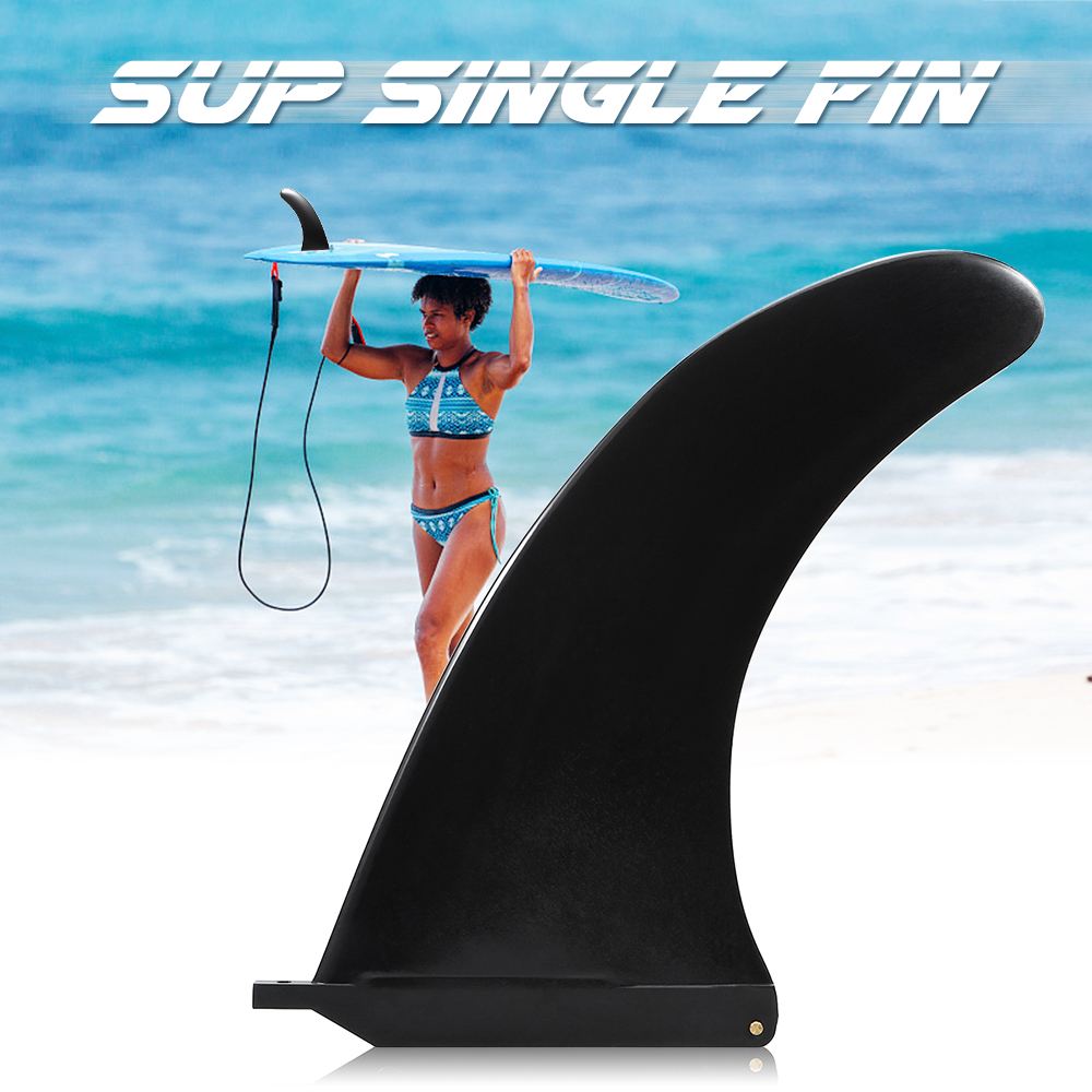 6.5 / 7.5 / 8 / 9 / 10 Inch SUP Single Fin Central Fin Nylon Longboard Surfboard Paddleboard SUP Fin Surfing Accessories