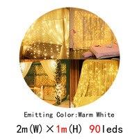 90leds warm white