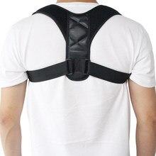 Superior para trás cinta straightener postura correção para clavícula apoio confortável postura trainer pescoço costas ombro alívio da dor