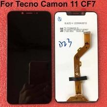 6.2 Full LCD สำหรับ Tecno Camon 11 CF7 จอแสดงผล LCD หน้าจอสัมผัส Digitizer แผงสำหรับ Tecno Camon 11 CF7 ชิ้นส่วนซ่อมหน้าจอ
