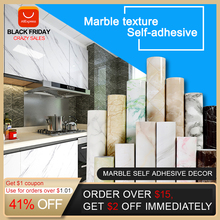 Papier peint auto adhésif 3D imperméable vinyle PVC effet marbre, pour salle de bains, cuisine