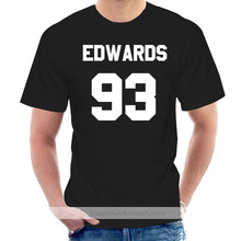 Edwards 93 - Mens T-Shirt - Perrie - 10 Colours - Free UK Delivery Print T Shirt Mens Short Sleeve Hot Tops Tshirt Homme @006646