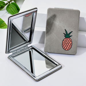 Image 2 - Vicney 2019 New Pattern Makeup Mirror Cartoon Portable Folding Compact Mirror Magnifier Elegant High End Pocket Hand Mirror