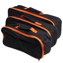 1 PCS Black Car Wear Resistant Zipper Closure Practical Storage Case With Handle Durable Portable Pouch Vacuum Cleaner Tool Bag