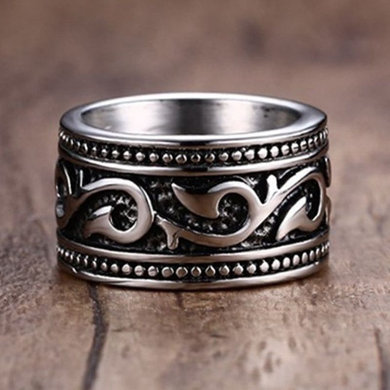 Новое Винтажное кольцо с изображением рыбки Викинга, пиратского крючка, мужское кольцо с металлическим серебряным покрытием, ретро кольцо, ...