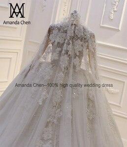 Image 2 - Аманда дизайн вуали один слой ручной работы на заказ роскошный жемчуг свадебная фата